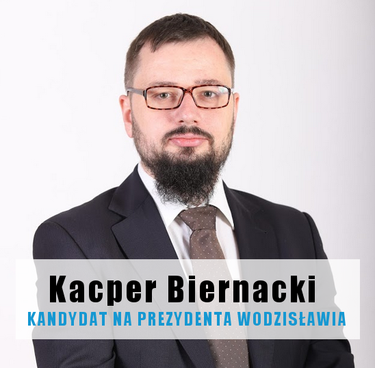 Kacper Biernacki kandydat na prezydenta