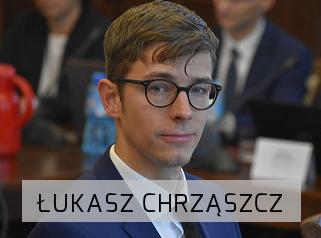 radny Łukasz Chrząszcz