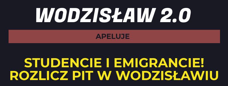 Rozlicz PIT w Wodzisławiu i przekaż 1% na lokalną organizację