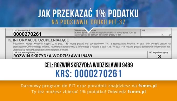 1% podatku wodzislaw 2.0