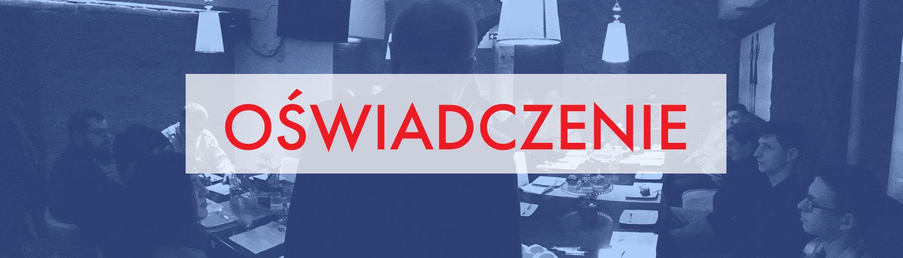 Oświadczenie Stowarzyszenia Wodzisław 2.0 ws. braku wotum zaufania dla Prezydenta