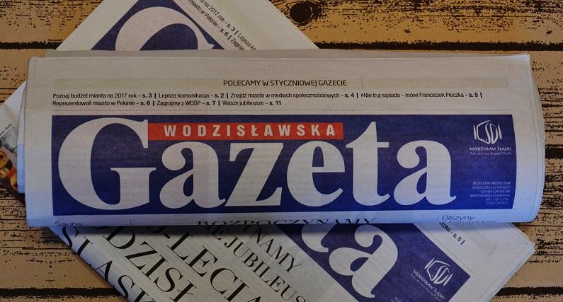 likwidacja gazety wodzisławskiej