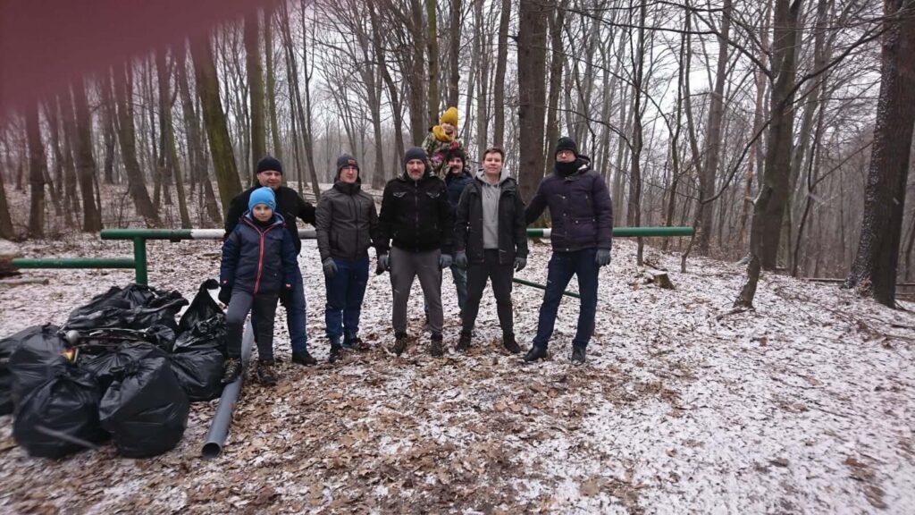 sprzątamy lasy w wodzisławiu