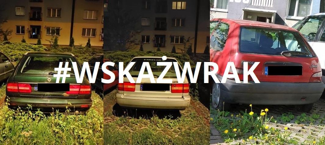 porzucone auta w wodzislawiu