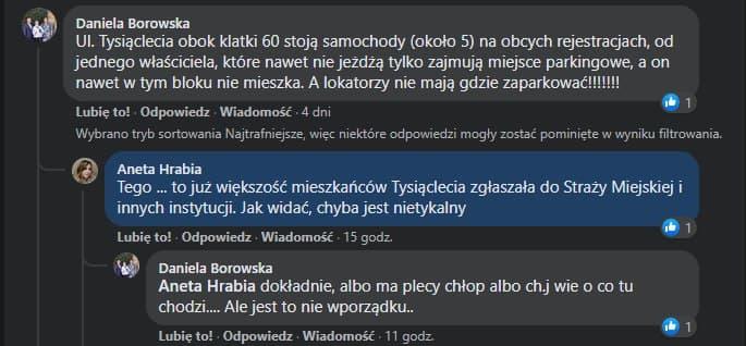 Porzucone auta Wodzisław